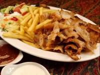 Kebab talerz z kurczaka
