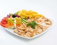 Kebab talerzu z kurczakiem