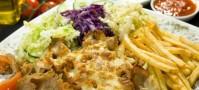 Kebab talerz z serem